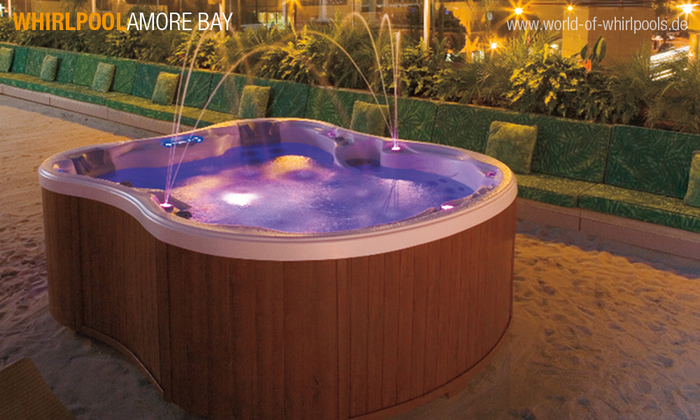 whirlpool amore bay 25 jahre aussen whirlpool jacuzzi. Black Bedroom Furniture Sets. Home Design Ideas
