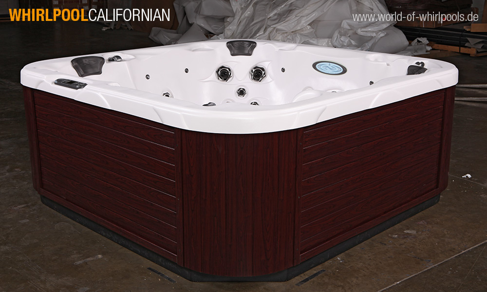 aussen whirlpool californian 25 jahre aussen whirlpool. Black Bedroom Furniture Sets. Home Design Ideas