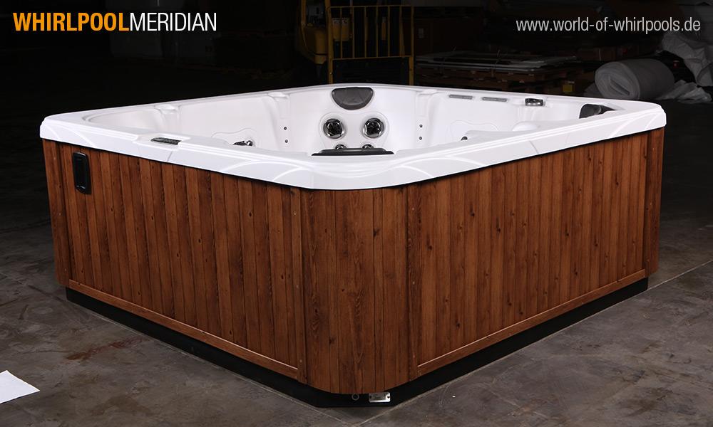 aussen whirlpool meridian 25 jahre aussen whirlpool jacuzzi fachhandel nrw. Black Bedroom Furniture Sets. Home Design Ideas
