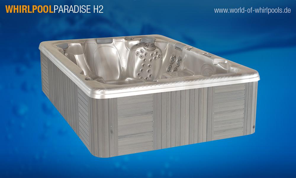 Whirlpool paradise h2 topseller 25 jahre aussen - World of whirlpools ...