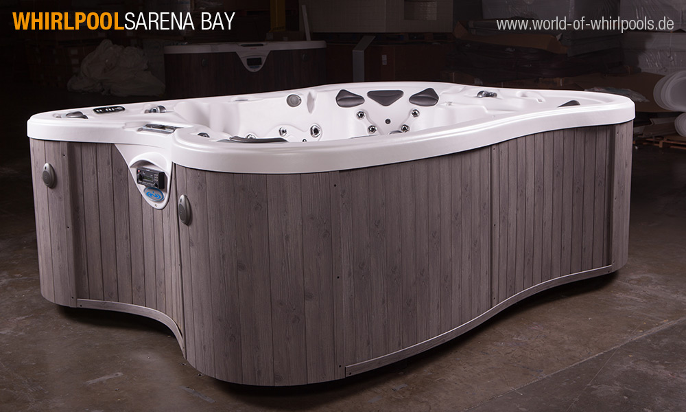 aussen whirlpool sarena bay jacuzzi und aussen whirlpool. Black Bedroom Furniture Sets. Home Design Ideas