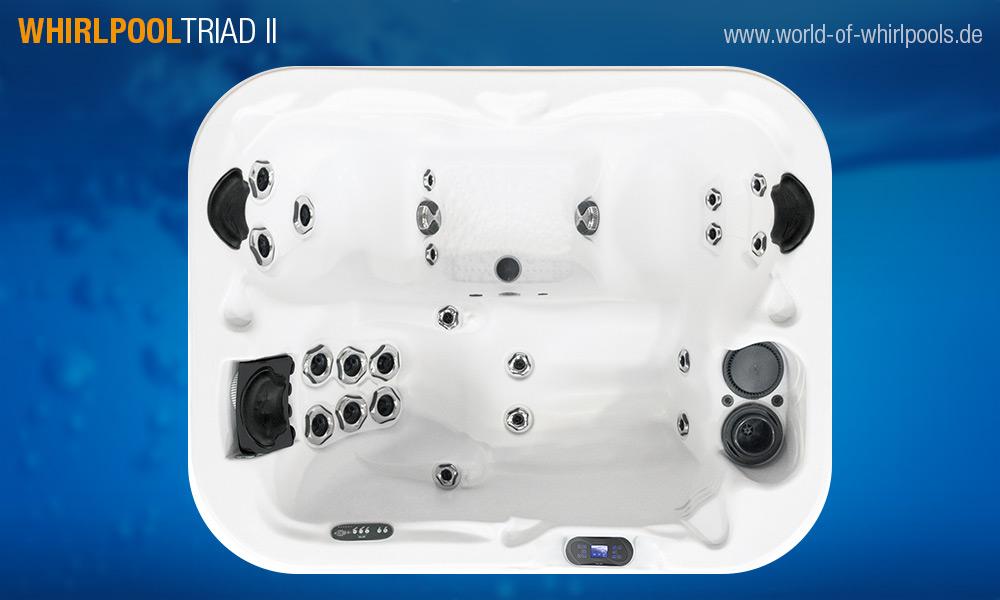 whirlpool triad ii 25 jahre aussen whirlpool jacuzzi fachhandel nrw. Black Bedroom Furniture Sets. Home Design Ideas